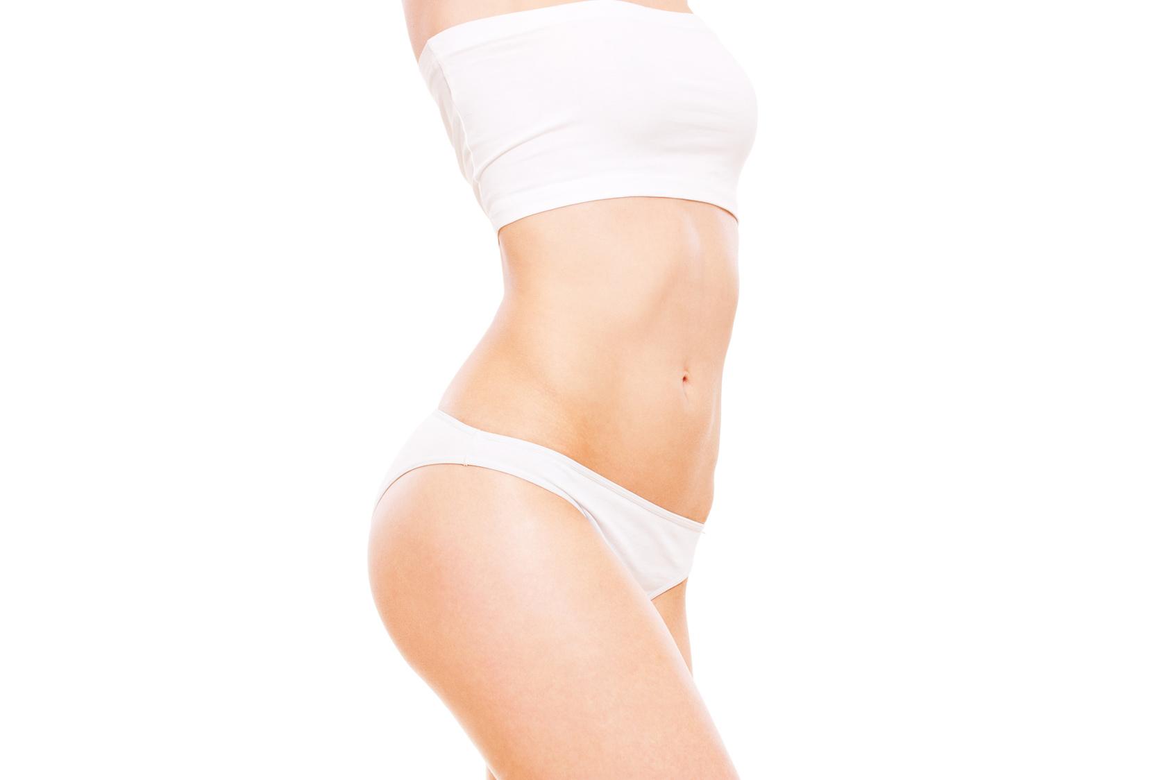 healthy woman's body