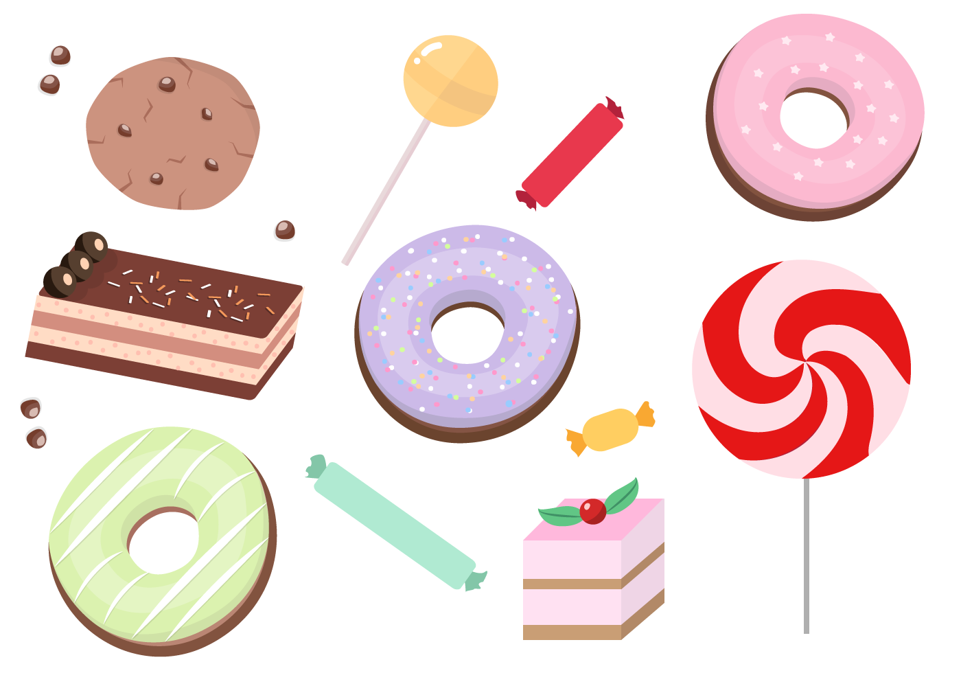 free-sweets-vector