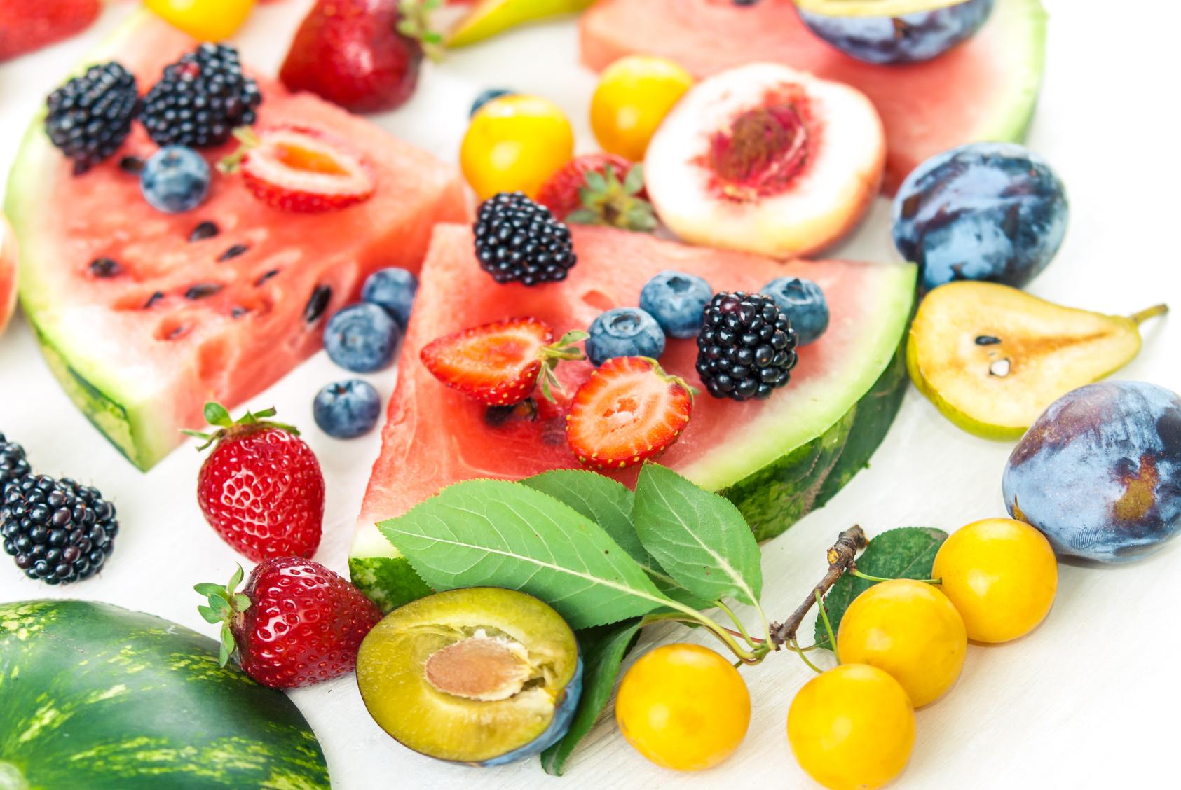 variation of summer berry