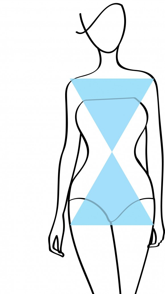 Woman body shapes. Apple, pear, hourglass, rectangle. Round, triangle shapes. Swimsuit shapes. Women body shapes line drawing. Female body shape.